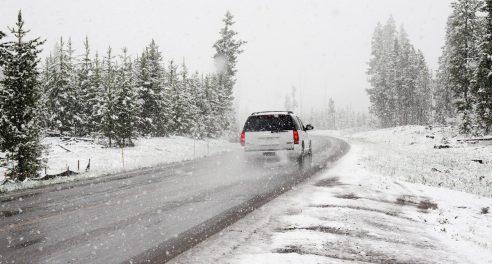 car winter driving